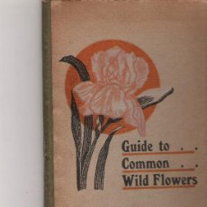 Libri di seconda mano: SCIENTIFIC GUIDE TO COMMON WILD FLOWERS - DAVID ELLIS - THE GRANT EDUCATIONAL CO., LTD.,. Lote 21111959