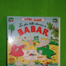 Libros de segunda mano: BABAR, LIBRO EN FRANCES. Lote 21513582