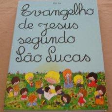 Libros de segunda mano: EVANGELHO DE JESUS SEGUNDO LÃO LUCAS - MILLI VAI.. Lote 21770378