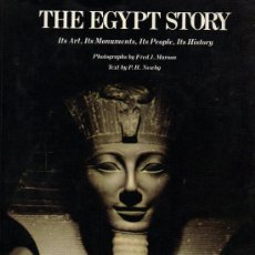 Libros de segunda mano: THE EGYPT STORY - ITS ART, ITS MONUMENTS, ITS PEOPLE, ITS HISTORY. Lote 21937355