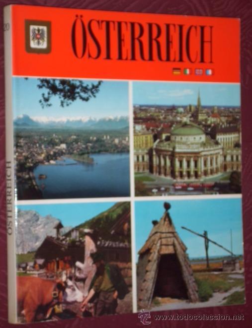 ÖSTERREICH DE EDITORIAL ESCUDO DE ORO EN BARCELONA 1985 PRIMERA EDICIÓN (Libros de Segunda Mano - Otros Idiomas)
