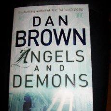 Libros de segunda mano - ANGELS AND DEMONS - DAN BROWN - EN INGLES - DE BOLSILLO - 620 PAGINAS - 26072828
