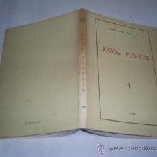 Libros de segunda mano: JOGOS FLORAIS DEDICADO POR AUTOR CARLOS VALLE EDICIÓN DEL AUTOR, 1963 RM48545. Lote 23878124