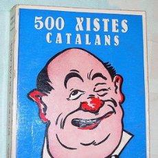 Libros de segunda mano: 500 XISTES CATALANS . Lote 26786224