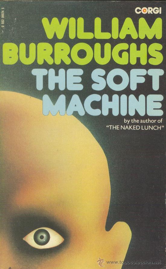 THE SOFT MACHINE WILLIAM BURROUGHS GORGI1974 INGLATERRA (Libros de Segunda Mano - Otros Idiomas)