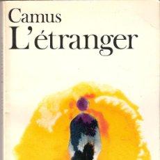 L'étranger. Camus. Collection Folio. Ed. Gallimard. 1973