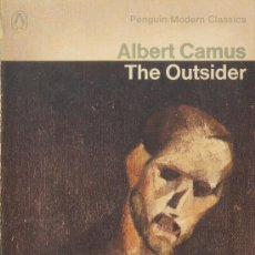 Libros de segunda mano: THE OUTSIDER ALBERT CAMUS PENGUIN MODERN CLASSICS PENGUIN 1966 INGLATERRA. Lote 26117934