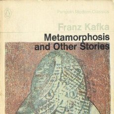 Libros de segunda mano: METAMORPHOSIS AND OTHER STORIE FRANZ KAFKA PENGUIN MODERN CLASSICS PENGUIN 1970 INGLATERRA. Lote 26246788