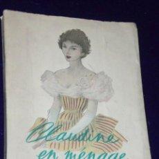 Libros de segunda mano: CLAUDINE EN MÉNAGE.(EN FRANCÉS). Lote 26145249
