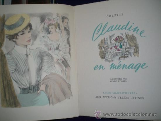 Libros de segunda mano: CLAUDINE EN MÉNAGE.(en francés) - Foto 3 - 26145249