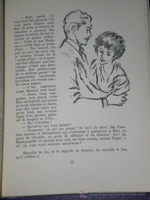 Libros de segunda mano: CLAUDINE EN MÉNAGE.(en francés) - Foto 7 - 26145249