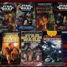 Libros de segunda mano: STAR WARS LOTE DE 7 NOVELAS EN INGLÉS. EDICIÓN NORTEAMERICANA. .. Lote 27445626