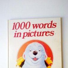 Libros de segunda mano: 1000 WORDS IN PICTURES, LAROUSSE, 1985. Lote 27863965