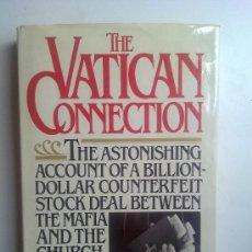 Libros de segunda mano: THE VATICAN CONNECTION, RICHARD HAMMER, 1982. Lote 28024876