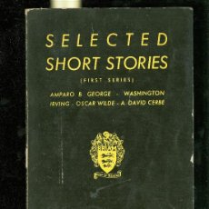 Libros de segunda mano: SELECTED SHORT STORIES. FIRST SERIES. AGARTHIS PRESS. MADRID. . Lote 28169714