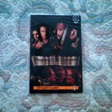 Libros de segunda mano: PIRATES OF THE CARIBBEAN. THE CURSE OF THE BLACK PEARL AUDIO CD PACK (PENGUIN READES)(LEVEL 2). Lote 28622621
