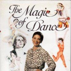Libros de segunda mano: LIBRO THE MAGIE OF DANCE BY MARGOT FONTEYN EN INGLES . Lote 29575293