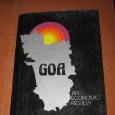 Libros de segunda mano: GOA, INDIA. AN ECONOMIC REVIEW. PRABHAKAR S. ANGLE. Lote 29878978