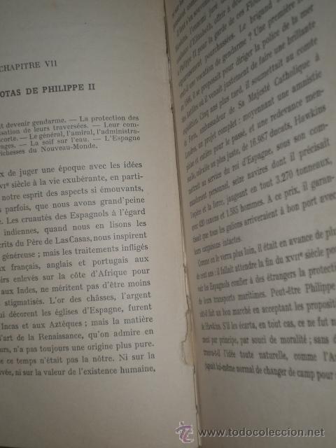 Libros de segunda mano: LES FLOTTES DE L´OR. HISTOIRE DES GALIONS D´ESPAGNE.(1937) - Foto 3 - 30043766