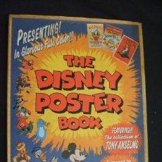 Libros de segunda mano: THE DISNEY POSTER BOOK - . Lote 31413090