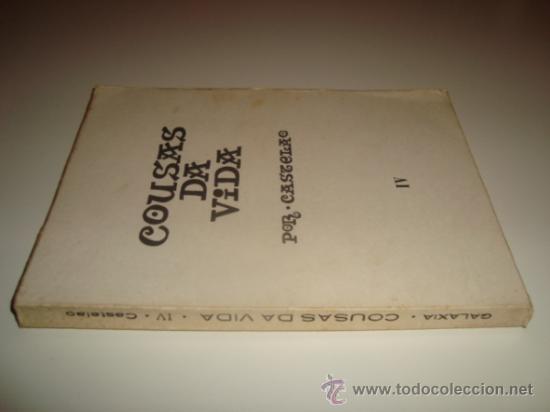 COUSAS DA VIDA POR CASTELAO - TOMO IV (1971) (Libros de Segunda Mano - Otros Idiomas)