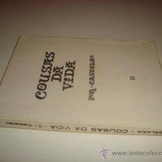 Libros de segunda mano: COUSAS DA VIDA POR CASTELAO - TOMO II (1968). Lote 31935027