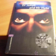 Libros de segunda mano: DR JEKYLL AND MR HYDE ( STEVENSON ) EN INGLES STAGE 4. INCLUYE CD.PRECINTADO (LE4). Lote 32076778