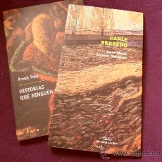 Libros de segunda mano: HISTORIAS QUE NINGUEN CRE. CANLE SEGREDO. LOTE DE 2 LIBROS EN GALLEGO. EDITORIAL GALAXIA.. Lote 32672314