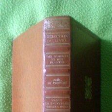 Libros de segunda mano: SÉLECTION DU´READER´S DIGEST(CUATRO NOVELAS EN UN SÓLO VOLUMEN);VVAA;READER´S DIGEST 1972;EN FRANCÉS. Lote 15079950