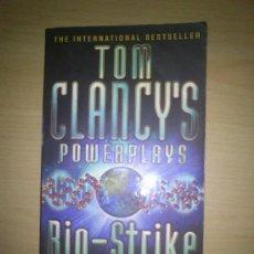 Libros de segunda mano: TOM CLANCY'S POWERPLAYS BIO-STRIKE - LIBRO EN INGLES 453 PÁGINAS. Lote 35617922