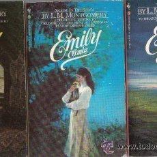 Libros de segunda mano: LIBROS EN INGLES EMILY DE LUCY LA DE ANA DE LAS TEJAS VERDES. Lote 36317685