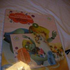 Libros de segunda mano: CUENTO PRECINTADO EDICION BILINGUE ESPAÑOL-INGLES CON CD - ALADINO Y LA LAMPARA MARAVILLOSA (EM3). Lote 37157260