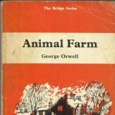 Libros de segunda mano: LIBRO EN INGLÉS. ANIMAL FARM. GEORGE ORWELL. EDITORIAL LONGMAN. G.B. 1977. Lote 38903210