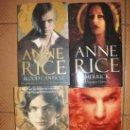 Libros de segunda mano: ANNE RICE - MEMNOCH THE EVIL - BLOOD CANTICLE - MERRICK - BLACKWOOD FARM - ARROW BOOKS. Lote 168024844