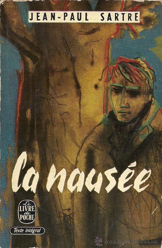 Jean Paul Sartre La Nausee Gallimard Le Livre De Poche 1956