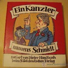 Libros de segunda mano: (608) EIN KANZLER NAMES SCHMIDT. Lote 39028475