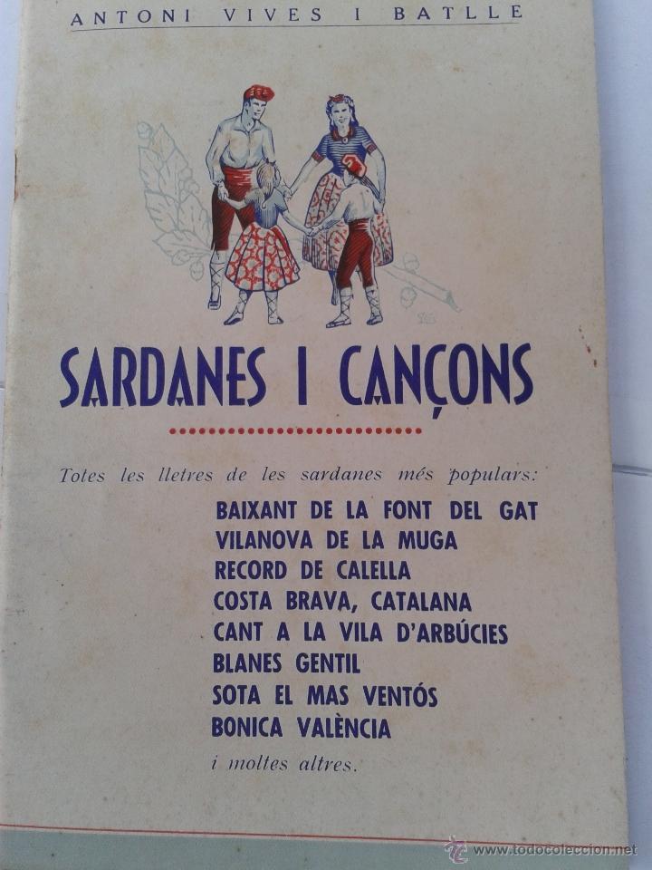 32 SARDANES I CANÇONS ANTONI VIVES I BATLLE (Libros de Segunda Mano - Otros Idiomas)