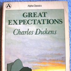 Libros de segunda mano: GREAT EXPECTATIONS - CHARLES DICKENS ( EN INGLES ). OXFORD UNIVERSITY PRESS, 1980.. Lote 39532661