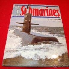Libros de segunda mano: SUBMARINES, DE ANTONY PRESTON. INGLES. Lote 219336083