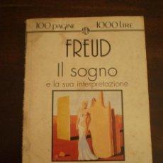 Libros de segunda mano: FREUD IL SOGNO ITALIANO. Lote 39921306