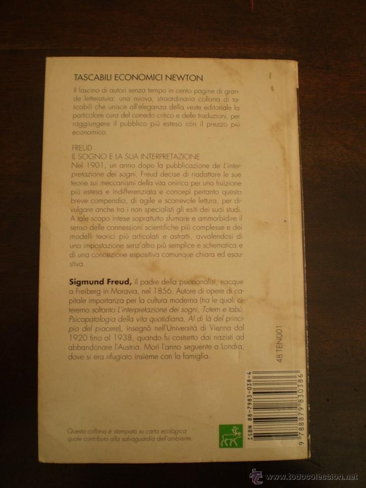 Libros de segunda mano: FREUD IL SOGNO ITALIANO - Foto 3 - 39921306