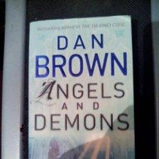 Libros de segunda mano - ANGELS AND DEMONS - DAN BROWN - EN INGLÉS - 40046524