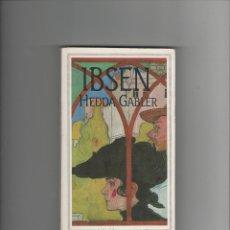 Libros de segunda mano: HEDDA GABLER - HENRIK IBSEN - FLAMMARION. Lote 40126874