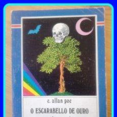 Livros em segunda mão: EN GALEGO. XERAIS XABARÍN #8, EDGAR ALLAN POE: O ESCARABELLO DE OURO E OUTROS CONTOS. Lote 40189599