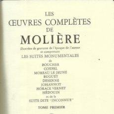 Libros de segunda mano: LIBRO EN FRANCÉS. LES CEUVRES COMPLÈTES DE MOLIÉRE. CHEZ JEAN DE BONNOT. PARÍS. 1983. TOME I. Lote 40221955