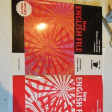 Libros de segunda mano: NEW ENGLISH FILE POR CLIVE OXENDEN. ELEMENTARY STUDENT'S BOOK + ELEMENTARY WORKBOOK.. Lote 40291318