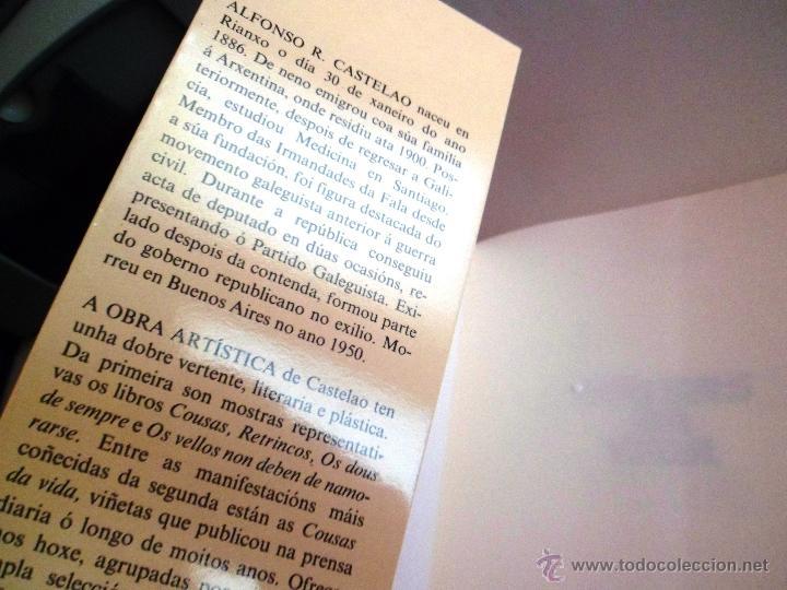 Libros de segunda mano: COUSAS DA VIDA. POR CASTELAO. HOMES. GALAXIA. - Foto 2 - 40386058