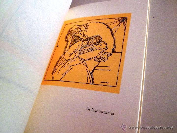 Libros de segunda mano: COUSAS DA VIDA. POR CASTELAO. HOMES. GALAXIA. - Foto 3 - 40386058