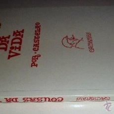 Libros de segunda mano: COUSAS DA VIDA. POR CASTELAO. CACIQUES. GALAXIA. . Lote 40386088