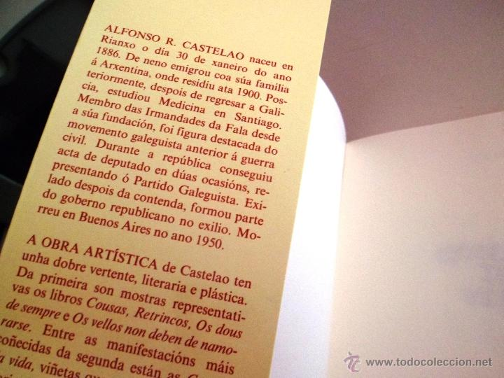 Libros de segunda mano: COUSAS DA VIDA. POR CASTELAO. VELLOS. GALAXIA. - Foto 2 - 40386105